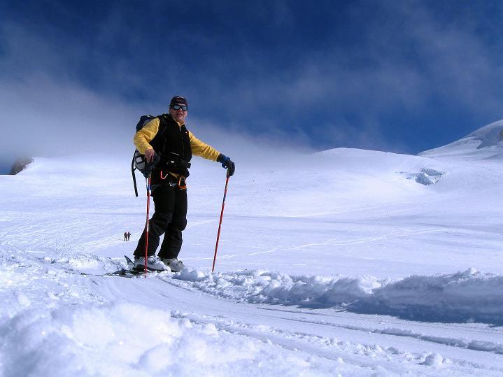 Foto: Andreas Koller / Ski Tour / Berner Alpen Durchquerung 2: Äbeni Flue (3962m) / 17.04.2009 22:59:37