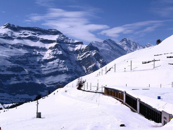 Foto: Andreas Koller / Ski Tour / Berner Alpen Durchquerung 1: Louwihorn (3777m) / 16.04.2009 23:03:24