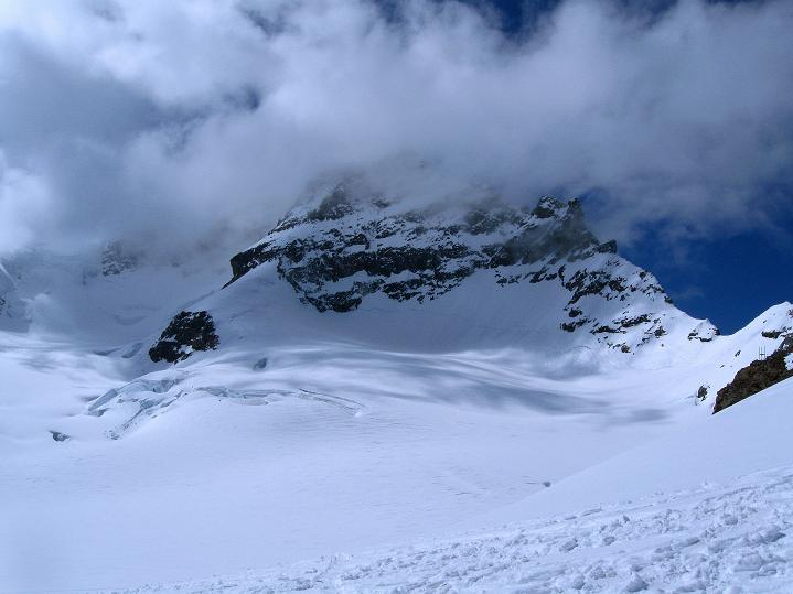 Foto: Andreas Koller / Ski Tour / Berner Alpen Durchquerung 1: Louwihorn (3777m) / Jungfrau (4158 m) / 16.04.2009 22:59:38