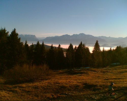 Foto: hofchri / Mountainbike Tour / Gaisberg (1287 m) über Glasenbachklamm / Früh übt sichs / 19.04.2009 09:23:37