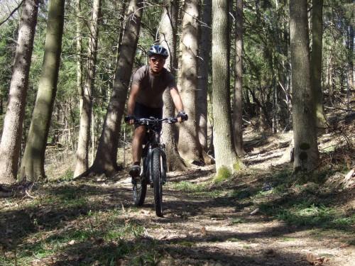 Foto: hofchri / Mountainbike Tour / Gaisberg (1287 m) über Glasenbachklamm / genialer downhill / 19.04.2009 09:26:27