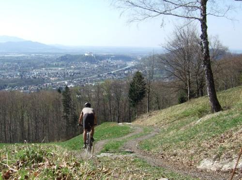 Foto: hofchri / Mountainbike Tour / Gaisberg (1287 m) über Glasenbachklamm / 19.04.2009 09:27:08