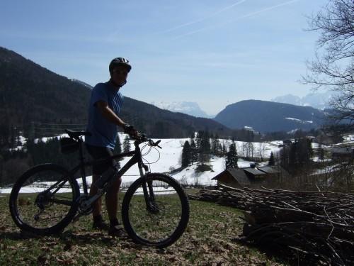 Foto: hofchri / Mountainbike Tour / Gaisberg (1287 m) über Glasenbachklamm / 19.04.2009 09:25:22