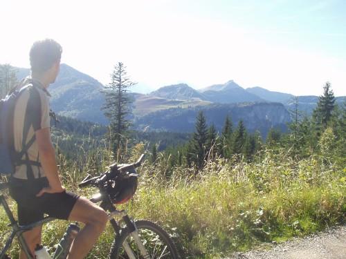 Foto: hofchri / Mountainbike Tour / Zwölferhorn (1521 m) über Königsbachalm / 19.04.2009 11:15:43