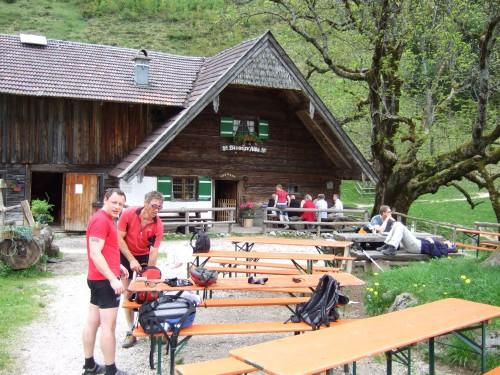 Foto: hofchri / Mountainbike Tour / Stoißer- und Steineralmrunde (1287 m) / die Steineralm / 19.04.2009 15:26:25