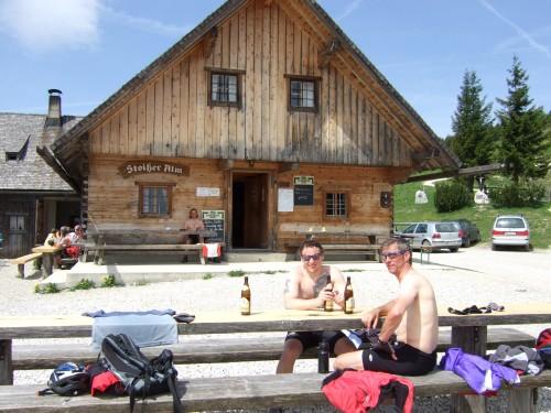 Foto: hofchri / Mountainbike Tour / Stoißer- und Steineralmrunde (1287 m) / 19.04.2009 15:24:43