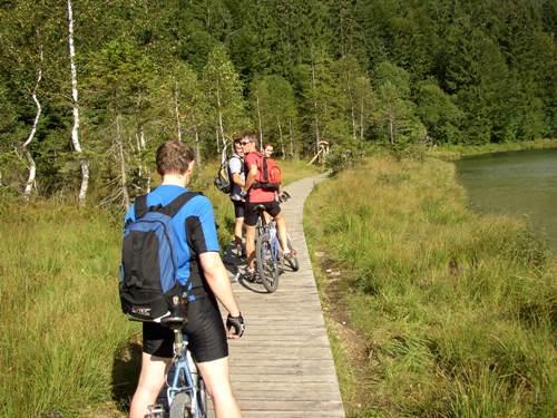 Foto: hofchri / Mountainbike Tour / Stoißer- und Steineralmrunde (1287 m) / Steeg am Frillensee / 19.04.2009 15:25:32