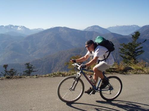 Foto: hofchri / Mountainbike Tour / Kasbergalm (1512 m) von Grünau / 19.04.2009 15:38:19