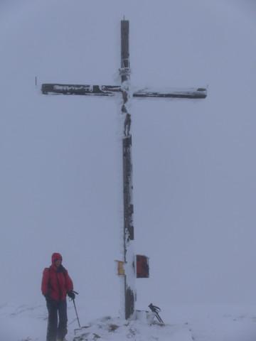 Foto: Wolfgang Lauschensky / Ski Tour / Gstoder über die Seetaler Hütten / Gstoder: schöner Aussichtsgipfel :-) / 14.02.2012 21:40:57
