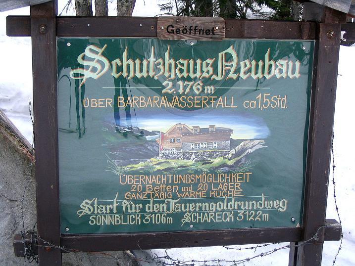 Foto: Andreas Koller / Ski Tour / Übers Naturfreundehaus Neubau auf die Riffelhöhe (2556m) / 27.04.2009 17:38:49