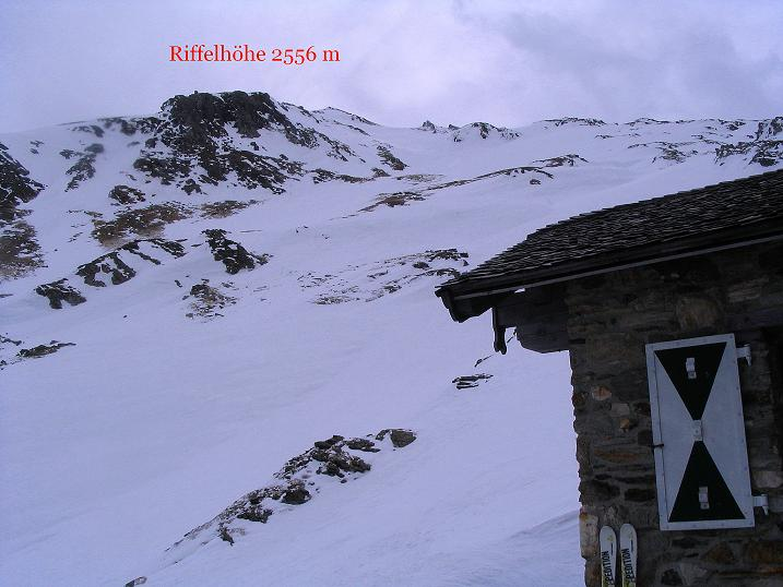 Foto: Andreas Koller / Ski Tour / Übers Naturfreundehaus Neubau auf die Riffelhöhe (2556m) / 27.04.2009 17:36:52