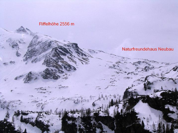 Foto: Andreas Koller / Ski Tour / Übers Naturfreundehaus Neubau auf die Riffelhöhe (2556m) / 27.04.2009 17:33:29