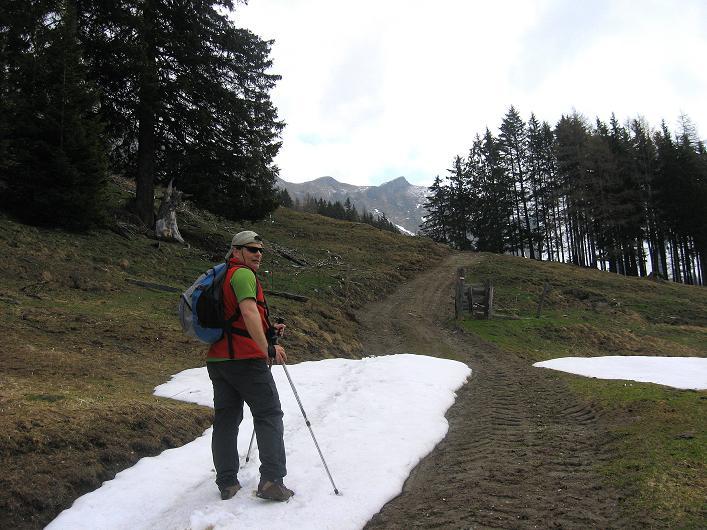Foto: Andreas Koller / Wander Tour / Über die Karalm auf den Sladinkopf (2305 m) / 04.05.2009 17:34:54