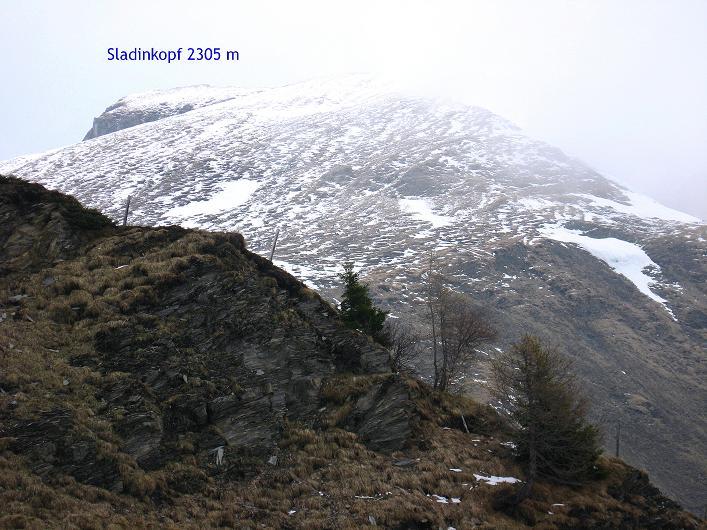 Foto: Andreas Koller / Wander Tour / Über die Karalm auf den Sladinkopf (2305 m) / 04.05.2009 17:34:14