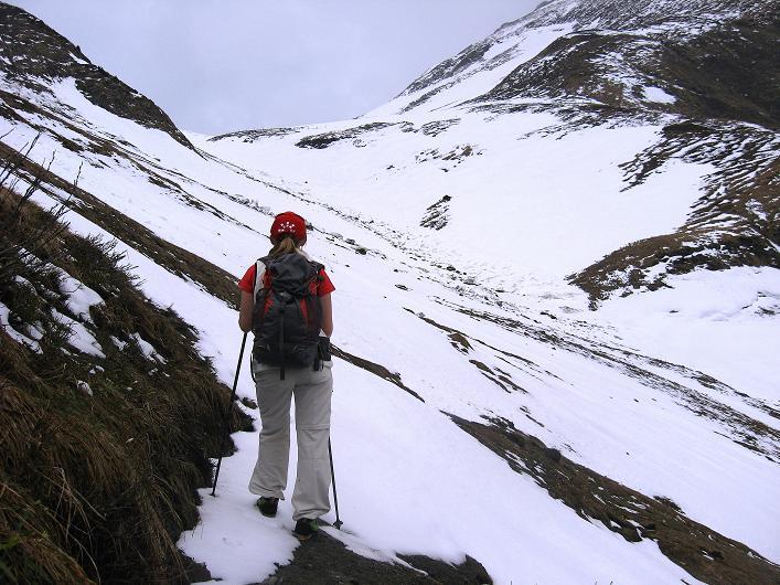 Foto: Andreas Koller / Wander Tour / Über die Karalm auf den Sladinkopf (2305 m) / 04.05.2009 17:33:30