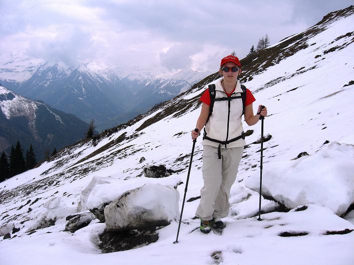 Foto: Andreas Koller / Wander Tour / Über die Karalm auf den Sladinkopf (2305 m) / 04.05.2009 17:33:16