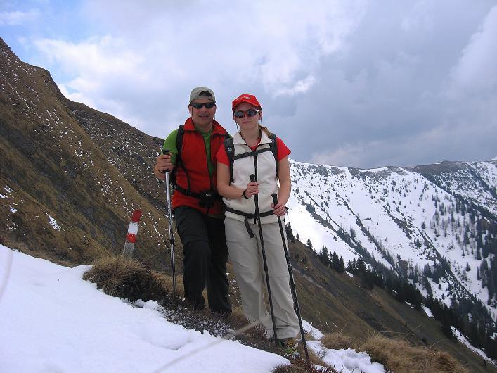 Foto: Andreas Koller / Wander Tour / Über die Karalm auf den Sladinkopf (2305 m) / 04.05.2009 17:33:07