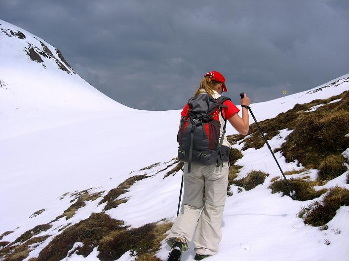 Foto: Andreas Koller / Wander Tour / Über die Karalm auf den Sladinkopf (2305 m) / 04.05.2009 17:32:42