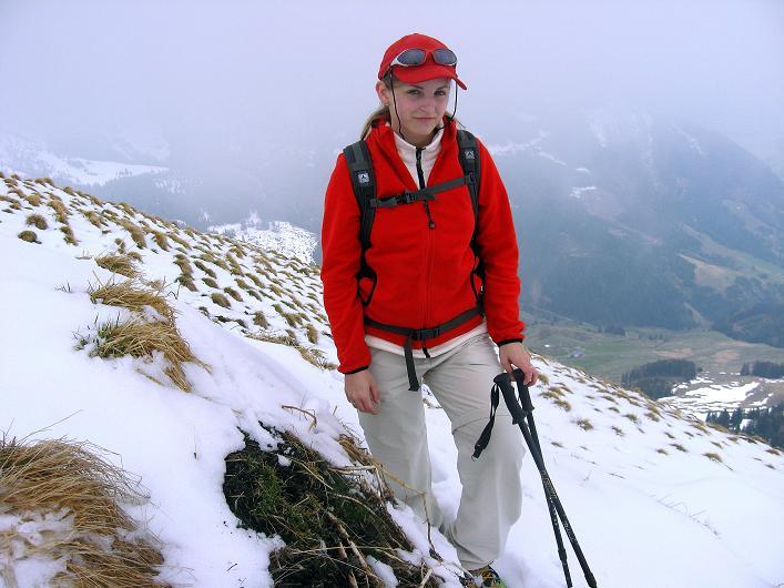 Foto: Andreas Koller / Wander Tour / Über die Karalm auf den Sladinkopf (2305 m) / Fast am Gipfel / 04.05.2009 17:29:24