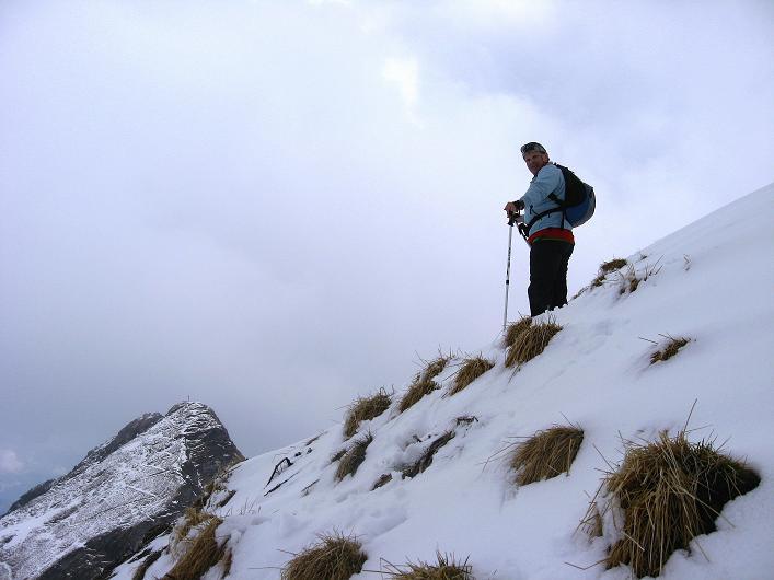 Foto: Andreas Koller / Wander Tour / Über die Karalm auf den Sladinkopf (2305 m) / Am Sladinkopf / 04.05.2009 17:29:09