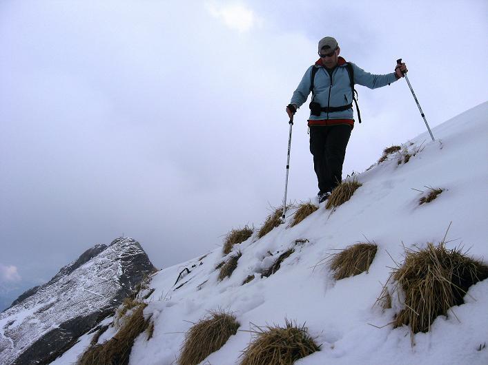 Foto: Andreas Koller / Wander Tour / Über die Karalm auf den Sladinkopf (2305 m) / Abstieg vom Sladinkopf / 04.05.2009 17:28:26