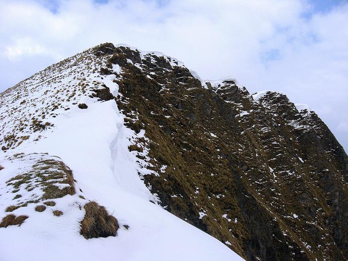 Foto: Andreas Koller / Wander Tour / Über die Karalm auf den Sladinkopf (2305 m) / Gipfelaufbau des Sladinkopfs / 04.05.2009 17:25:22
