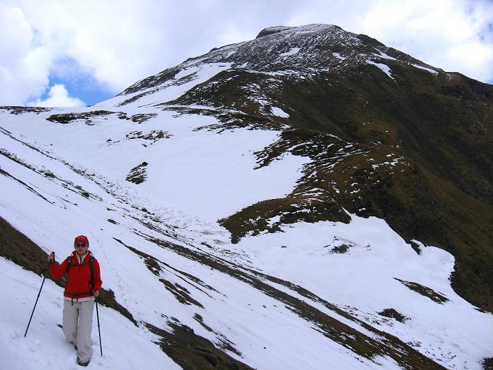 Foto: Andreas Koller / Wander Tour / Über die Karalm auf den Sladinkopf (2305 m) / 04.05.2009 17:22:48