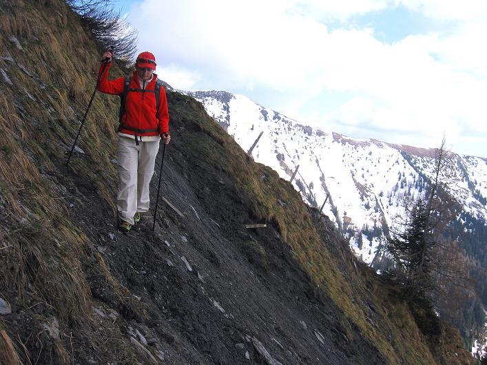 Foto: Andreas Koller / Wander Tour / Über die Karalm auf den Sladinkopf (2305 m) / 04.05.2009 17:22:39