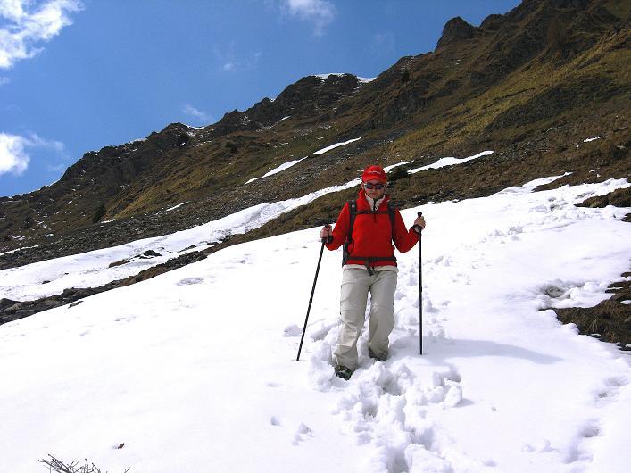 Foto: Andreas Koller / Wander Tour / Über die Karalm auf den Sladinkopf (2305 m) / 04.05.2009 17:22:29