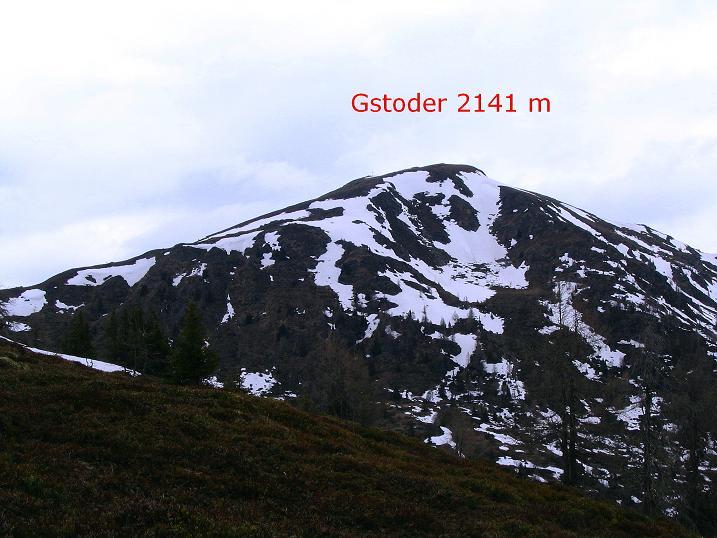 Foto: Andreas Koller / Wander Tour / Über die Dörfler Alm auf den Gstoder (2140m) / 10.05.2009 21:57:57