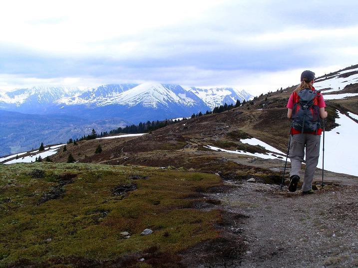 Foto: Andreas Koller / Wander Tour / Über die Dörfler Alm auf den Gstoder (2140m) / 10.05.2009 21:56:34