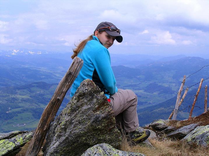 Foto: Andreas Koller / Wander Tour / Über die Dörfler Alm auf den Gstoder (2140m) / 10.05.2009 21:54:10
