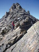 Foto: Kurt Schall / Klettersteig Tour / Graue Wand Klettersteig - Begehung nicht mehr möglich! / 11.05.2009 18:47:24