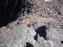 Foto: Kurt Schall / Klettersteig Tour / Graue Wand Klettersteig - Begehung nicht mehr möglich! / 11.05.2009 18:47:39