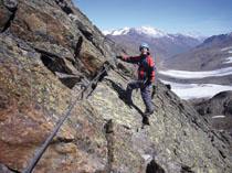 Foto: Kurt Schall / Klettersteig Tour / Graue Wand Klettersteig - Begehung nicht mehr möglich! / 11.05.2009 18:47:54