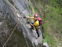 Foto: Kurt Schall / Klettersteig Tour / Pursteinwand-Klettersteig / 11.05.2009 19:01:37