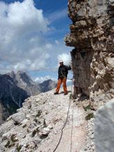 Foto: Kurt Schall / Klettersteig Tour / Alpinisteig / 11.05.2009 19:35:18