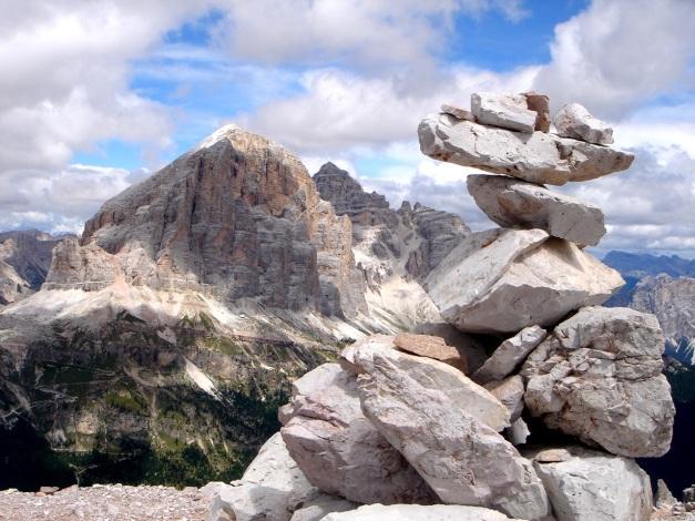Foto: Manfred Karl / Klettersteig Tour / Via ferrata Averau / Tofana / 12.05.2009 18:57:13