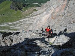 Foto: Kurt Schall / Klettersteig Tour / Via ferrata Bolver-Lugli / 12.05.2009 08:21:42