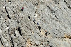 Foto: Kurt Schall / Klettersteig Tour / Via ferrata Tofana di Dentro / 12.05.2009 08:56:20