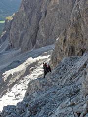 Foto: Kurt Schall / Klettersteig Tour / Via ferrata Aldo Roghel / 12.05.2009 09:09:57