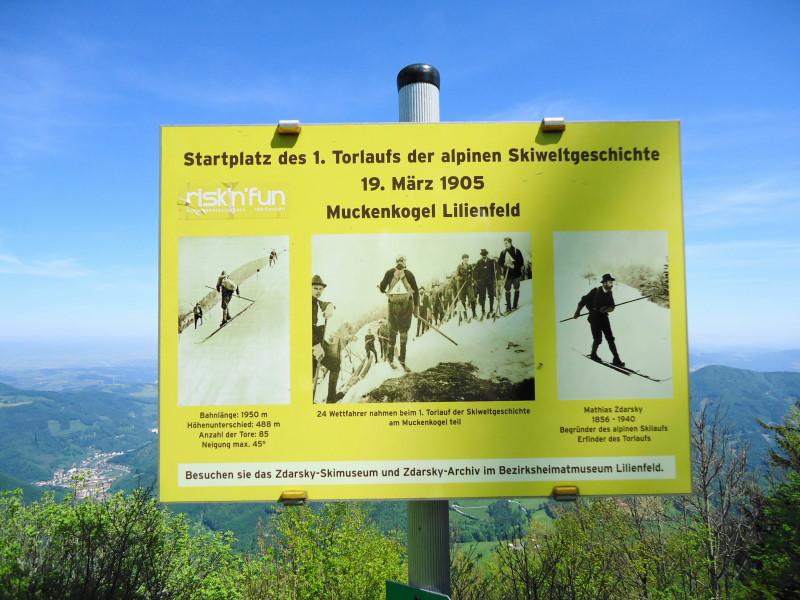 Foto: Günter Siegl / Wander Tour / Muckenkogel (1.248 m) und Hinteralm (1.313 m) / Historisches!!! / 29.05.2014 08:47:35