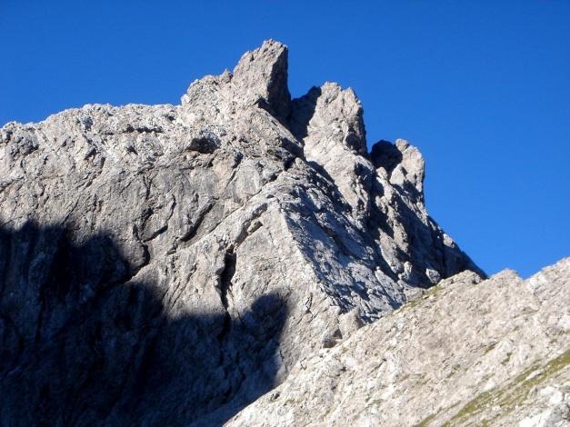 Foto: Manfred Karl / Klettersteig Tour / Seekofel Klettersteig / Kletterberg mit schönen leichten Routen: Gr. Teplitzerspitze vom Saazerweg / 14.05.2009 23:14:47