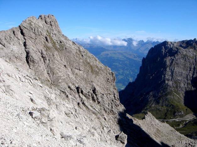 Foto: Manfred Karl / Klettersteig Tour / Seekofel Klettersteig / Teplitzerspitze und Laserzwand / 14.05.2009 23:14:03