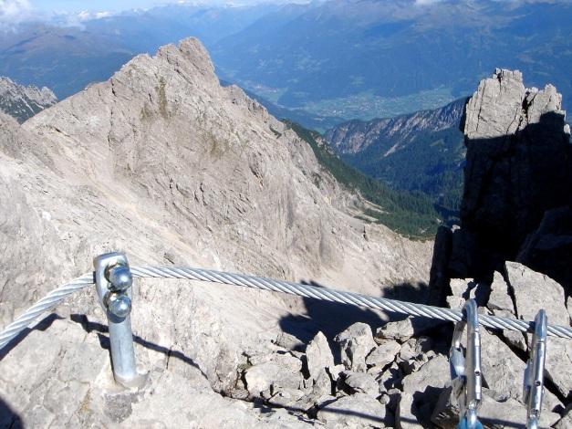 Foto: Manfred Karl / Klettersteig Tour / Seekofel Klettersteig / Große Teplitzerspitze / 14.05.2009 23:11:22
