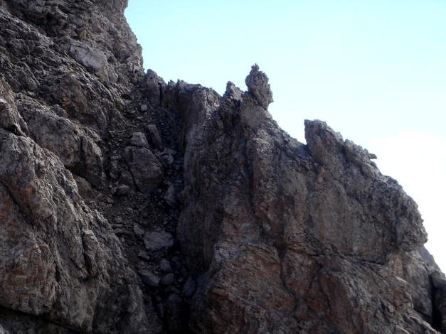 Foto: Manfred Karl / Klettersteig Tour / Seekofel Klettersteig / Steile Rinnen - Vorsicht: Steinschlaggefahr! / 14.05.2009 23:05:11