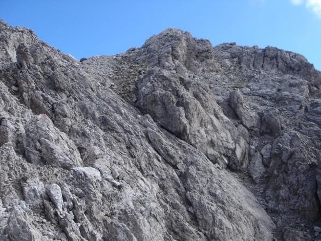 Foto: Manfred Karl / Klettersteig Tour / Seekofel Klettersteig / Gipfelanstieg / 14.05.2009 23:04:25