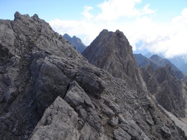 Foto: Manfred Karl / Klettersteig Tour / Seekofel Klettersteig / Die letzten Meter / 14.05.2009 23:03:34