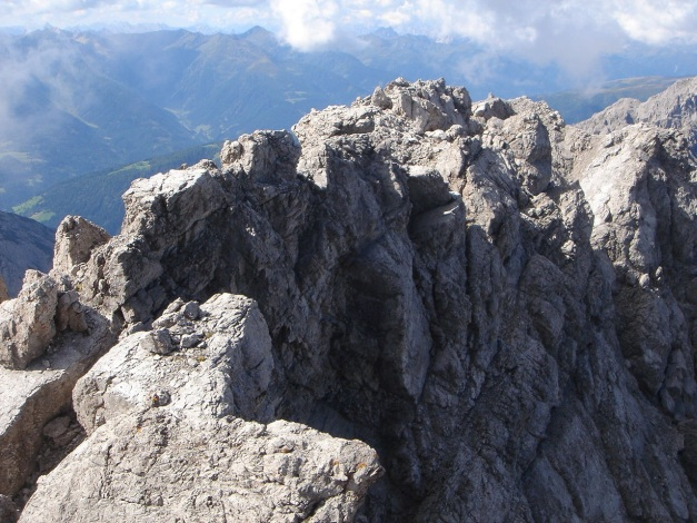 Foto: Manfred Karl / Klettersteig Tour / Seekofel Klettersteig / Gipfelgrat / 14.05.2009 23:03:13