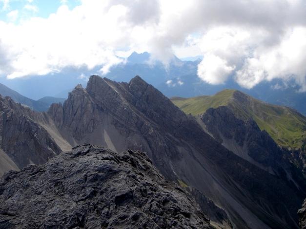 Foto: Manfred Karl / Klettersteig Tour / Seekofel Klettersteig / Blick nach Süden / 14.05.2009 22:58:00
